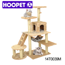Eco Friendly Cat Tree Play House designs Condo Scratcher Post Furniture Large Perch