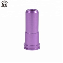 7075 Aluminum CNC Machining Built-in Double O-ring prevent air leaking Air Seal AK <strong>Nozzle</strong> for Airsoft AEG hunting acc