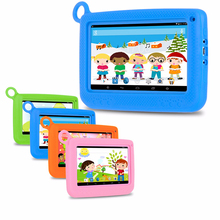 "Hipo 7"" China Oem Kids Android Tablet 1024*600 For Children Learning Smart Pad"