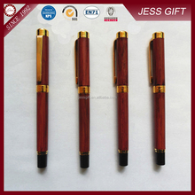 High quality promotional wooden fountain pen wooden pen
