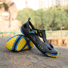 latest designs durable brand sport pu sandals for men