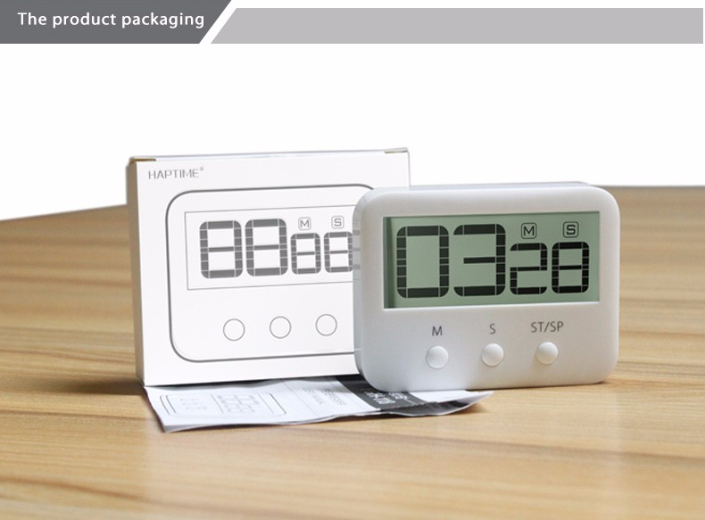 magnetic smart plastic indoor countdown timer