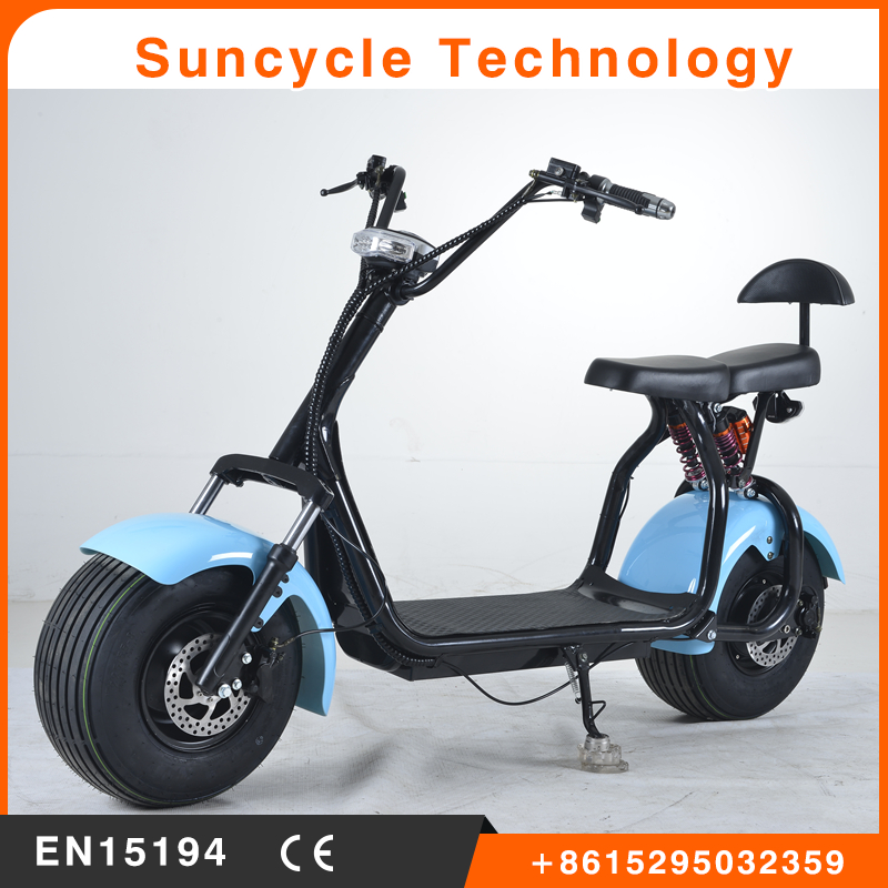 Suncycle Promotion product E-Scooter city coco 2 Wheels Electric Motorcycle,1000W Adult Electric city Scooter
