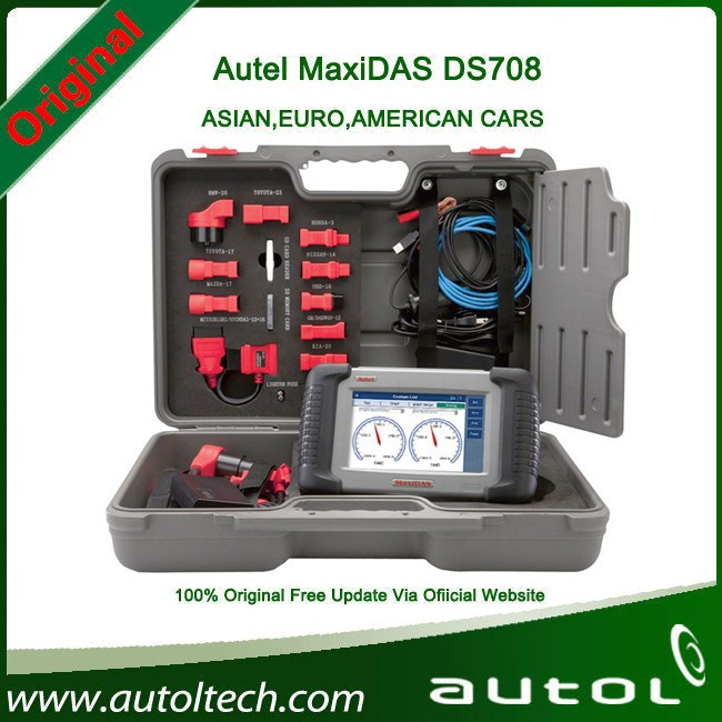 100% Original Autel DS708 Automotive Diagnostic and Analysis System Live data ECU programming ALL electronic systems