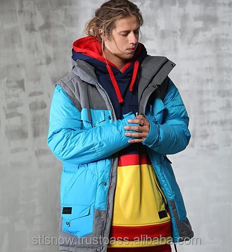 2014/2015 High quality Unisex warm Ski Snowboard jacket, Indi Jacket Blue
