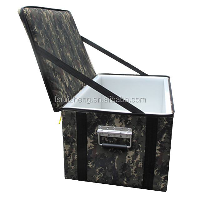 Camouflage Oxford Fabric Cloth Thermal insulation Tool Case Cooler Box