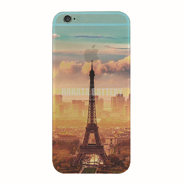 Eiffel Tower Ultra-thin Transparent TPU Cover for iphone 6s Plus, for iphone 6s Mobile Phone Case, for iphone6s TPU Case