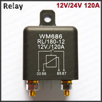 Automotive Electrical Relay 12V 24V 100a