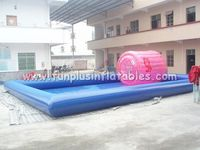 OEM Design Amusement Park Rides Inflatable Adult Swimming Pool Large Inflatable Pool F9031