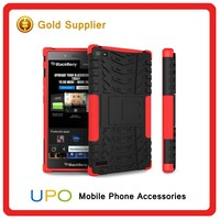 [UPO] Heavy Duty Hard PC TPU Kickstand Phone Case for Blackberry Z3