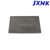 garment accessories leather label for jeans clothing