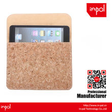 for girls eco friendly novelty magnetic cork fabric sleeve for ipad mini