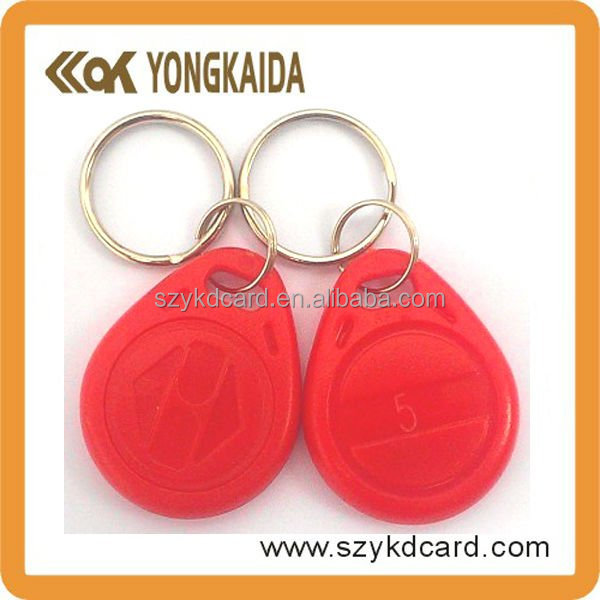 Good Quality Contactless 125KHz T5577 Plastic Key Fob Case