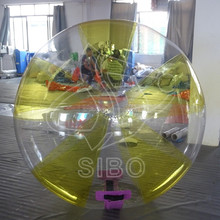 GMIF313009 Promotional PVC kid size small inflatable clear plastic ball in pool