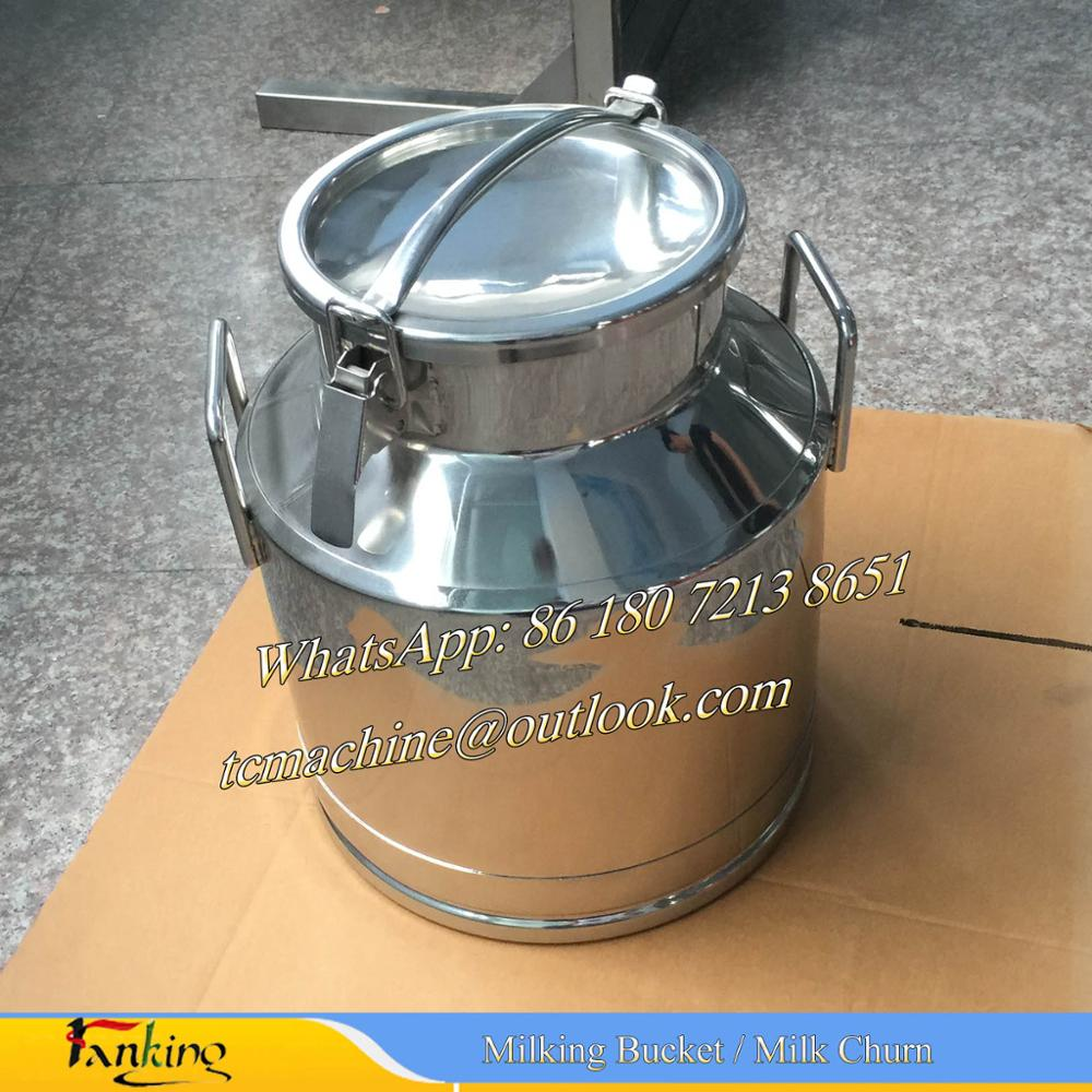 25Liter stainless steel milk bucket milk pot
