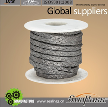 Valve Graphite Braided Packing With Inconel Wire Reinforced Mesh Packing