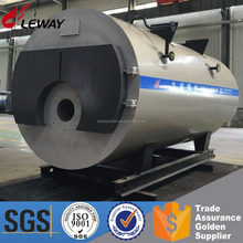 High Thermal Efficiency 95% Industrial Fire Tube 1Ton/h 2Ton/h 3Ton/h Natural Gas Oil Steam Boiler For Heating