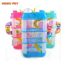 2017 hemu large folding plastic for dog cat hamster house crate pet squirrel cage