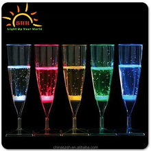 2015 new design party champagne glass for wedding supplies/Champagne glass gift box