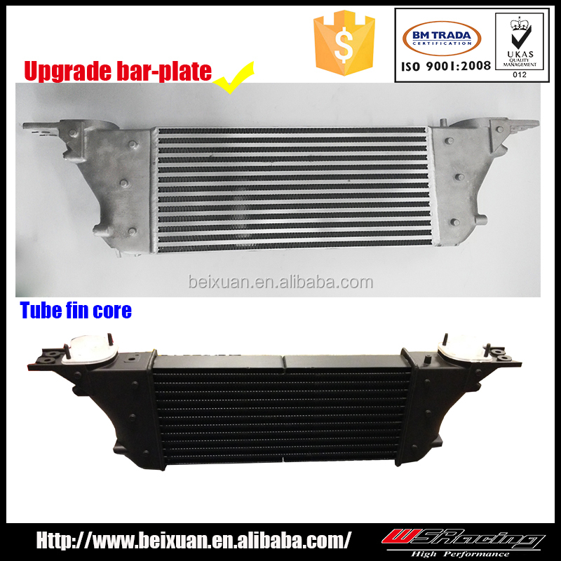 For Navara 550 D40 STX V6 3.0L to make heat air exchanger bar and plate intercooler