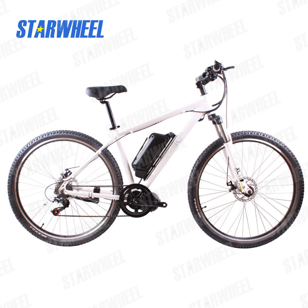 26inch mountain bike electric 48V750W bafang mid drive