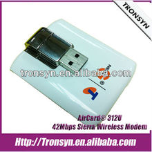Original Unlock AriCard 312U Sierra Wireless AirCard Download Driver USB Wireless Modem HSDPA 42Mbps