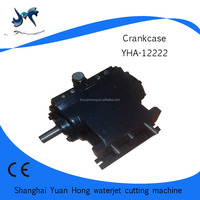 crankcase of the water jet cutting machine