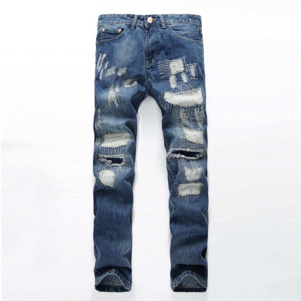 Z93173A 2017 Custom Bulk Tight Men Jeans Pants , Biker Jeans Men