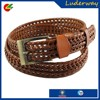 Good quality female braided chastity sash belt PU material for trouser