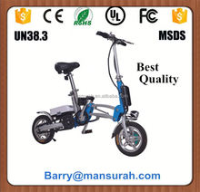 250W rear motor bike Folding Electric Bike/E-Bike XY-EB010 with CE/EN 15194 Made in China
