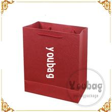 cheap customed christmas brand new paper shopping bag with your own logo