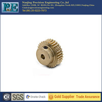 china supply OEM manufacturer custom made high quality brass worm gear