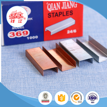 Multifunctional Qianjiang No.10 standard office staple strength standard staples 26/6 size
