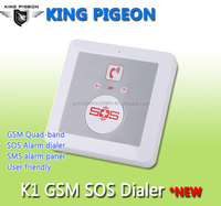 gsm cell phone emergency auto dialer with Gsm alarm dialer King Pigeon K1