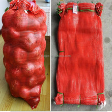 PP leno mesh net bag for fruit and vegetable , Raschel mesh bags for Pakistan