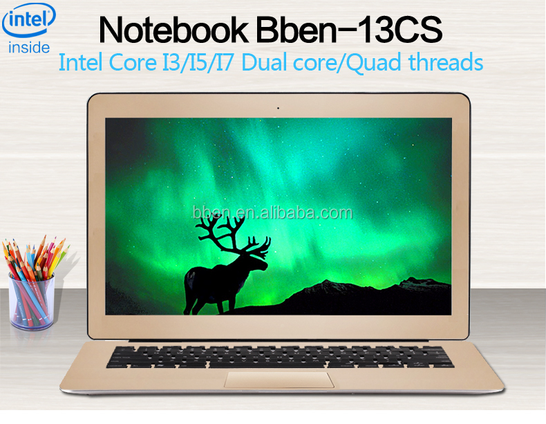 2016very cheap wholesale intel core i5 high quality laptop computer prices in china