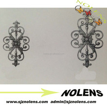 Decorative Garden Wrought Iron Metal Gate Designs/Ornament cast iron baluster picket