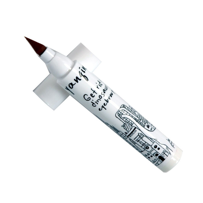 Liquid Eyebrow Pen Eye Brow Make Up Pencil Brow Enhancer Waterproof Cosmetic Beauty Soybean Milk Eyebrow