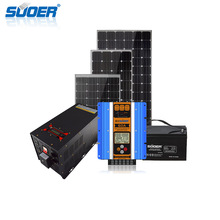 Suoer photovoltaic panels price 5000w off-grid home solar panel power system batteries for solar system 5kw