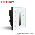 Multi zone touch panel Wall Mounted Temperature Controller with 2 signal output