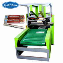 Goldshine High Quality Aluminum foil wrapping Slitting Cutting machine