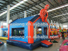 Attractive and Exciting outdoor giant inflatable jumping castle/ inflatable Spider Man Bounce