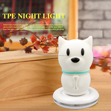 Dog TPE Rechargeable Led Night Light