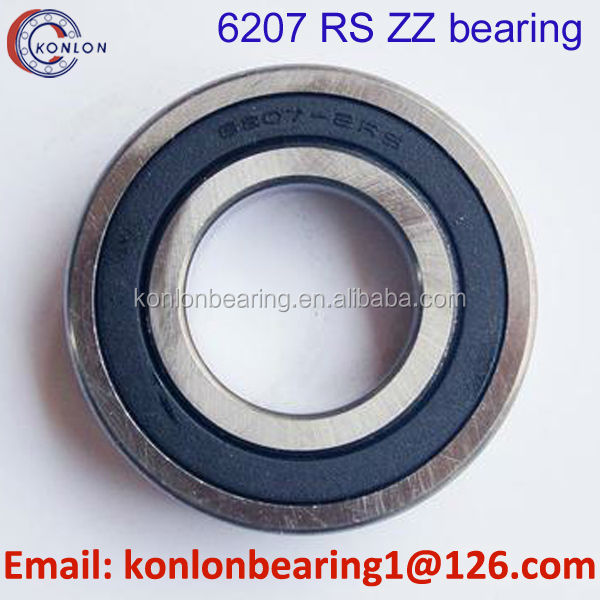 6207 rs bearing mini bearing 6207 deep groove ball bearing export to more than 90 countries
