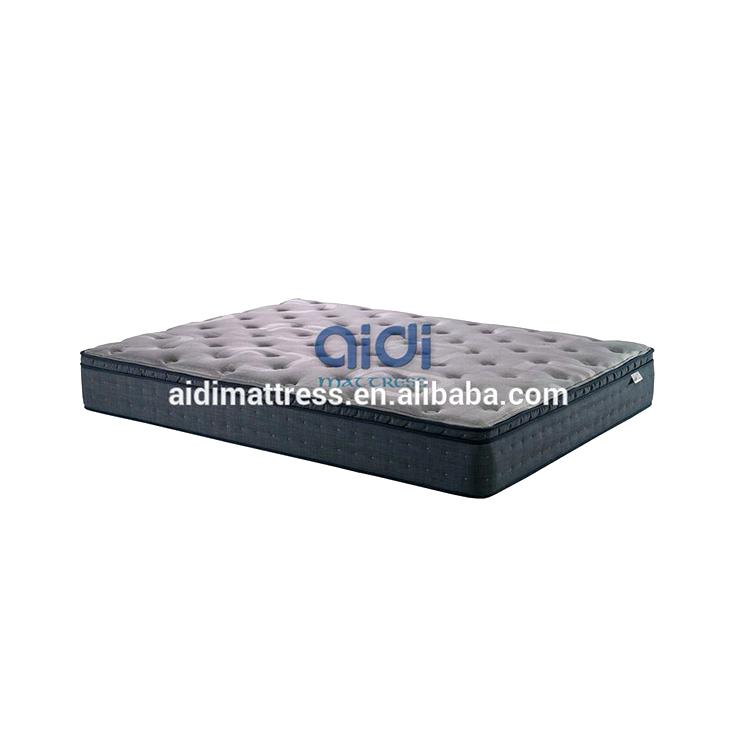 2019 New Product Coconut Fiber Palm Bonnell Spring Plush Latex Bed Mattress AC-1410 - Jozy Mattress | Jozy.net