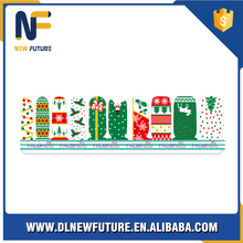 Christmas promotion gift nail art stickernew finger nail stickers