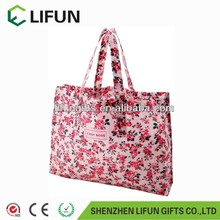 2017 the pink PVC shopping bag