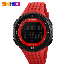 hot sale Vogue Private Men's Simple Digital big LCD Screen Sport multifunction waterproof relojes from Wrist Watch supplier