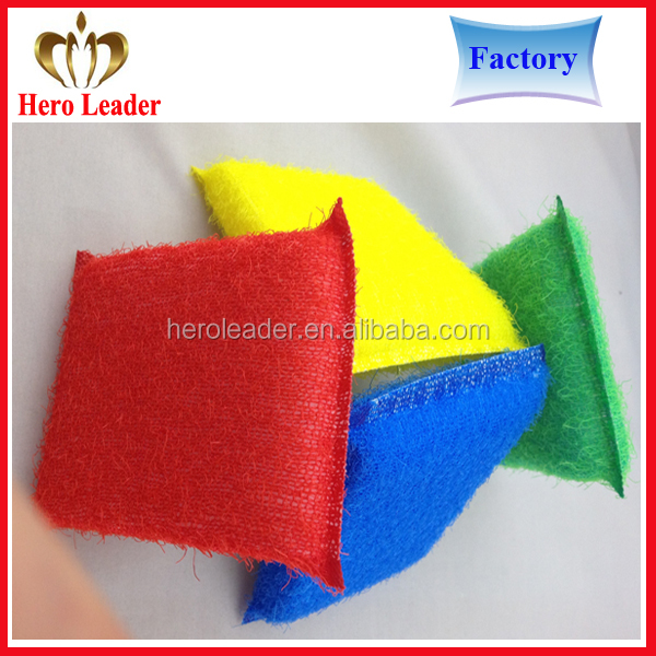 Microfiber nonscratch kitchen dish scouring pad,dish cleaning pad namo sponge