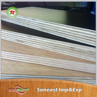 Phenolic Resin Faced Plywood Mill and Polywood Material Film Faced shuttering Plywood